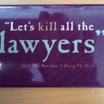 Shakespeare and lawyers