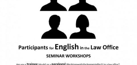 English for Paralegals: Workshops Series
